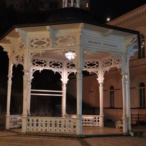Чехия, Карловы Вары ночью