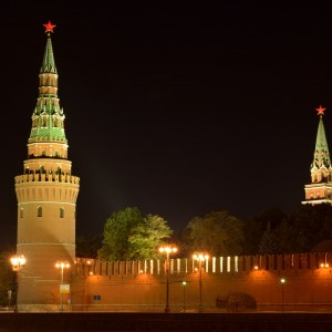 Водовзводная (Свиблова) и Боровицкая башни.